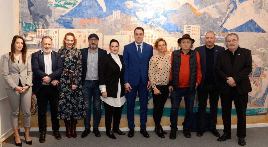 """Gradonačelnik primio predstavnike članica Regionalne unije teatara ,,Ruta"""""""