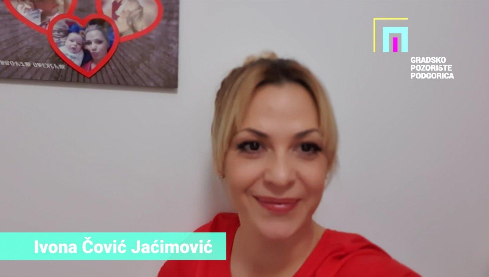Kampanja #OstaniDoma Ivona Čović Jaćimović
