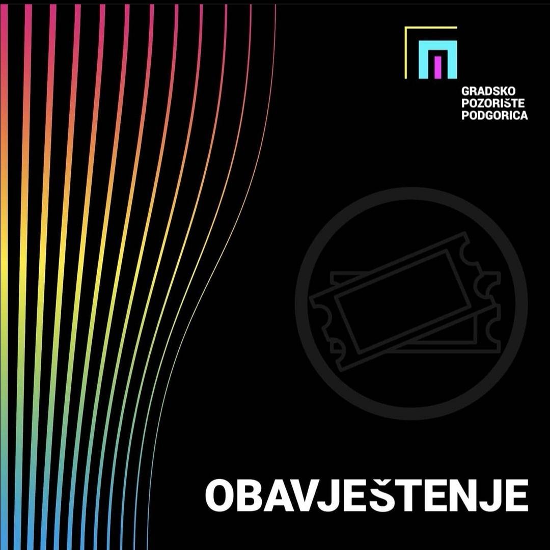 """Predstava ,,Zelena čoja Montenegra"""" se otkazuje"""