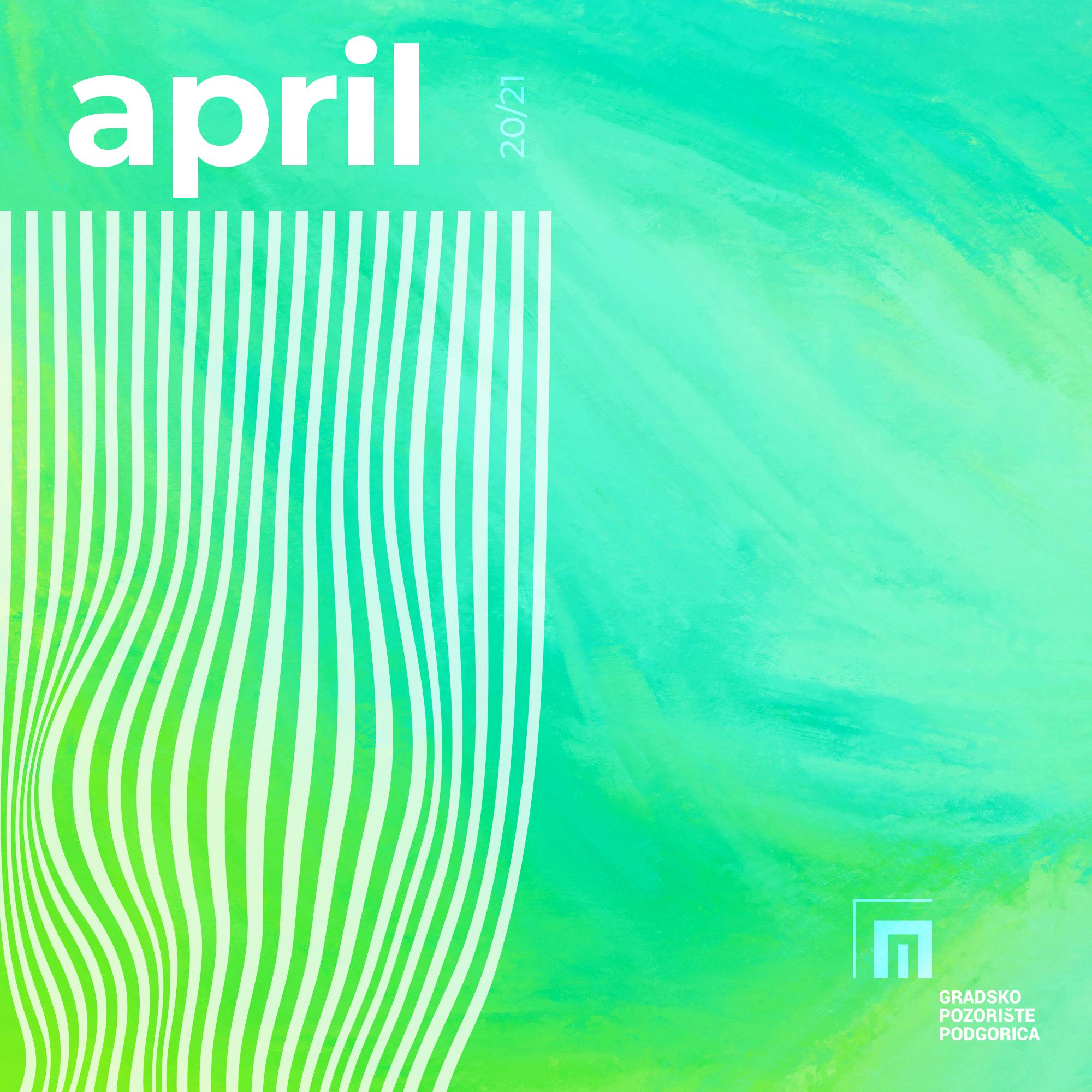 Repertoar za april