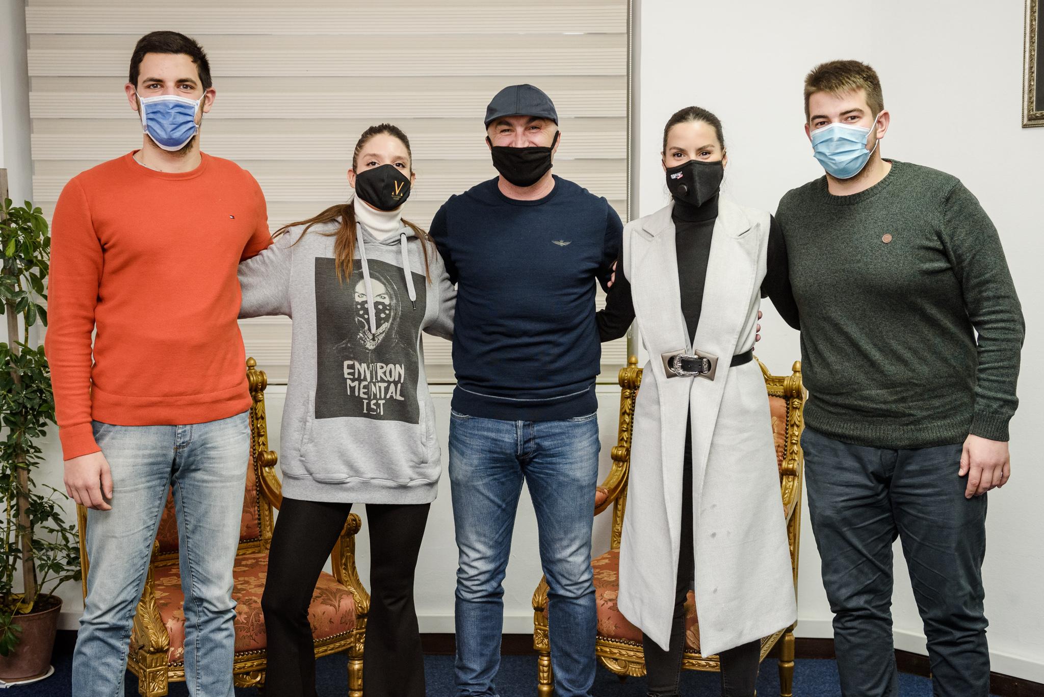 Novi članovi ansambla Gradskog pozorišta Podgorica