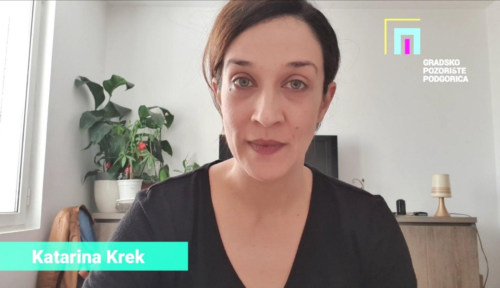 Kampanja #OstaniDoma Katarina Krek