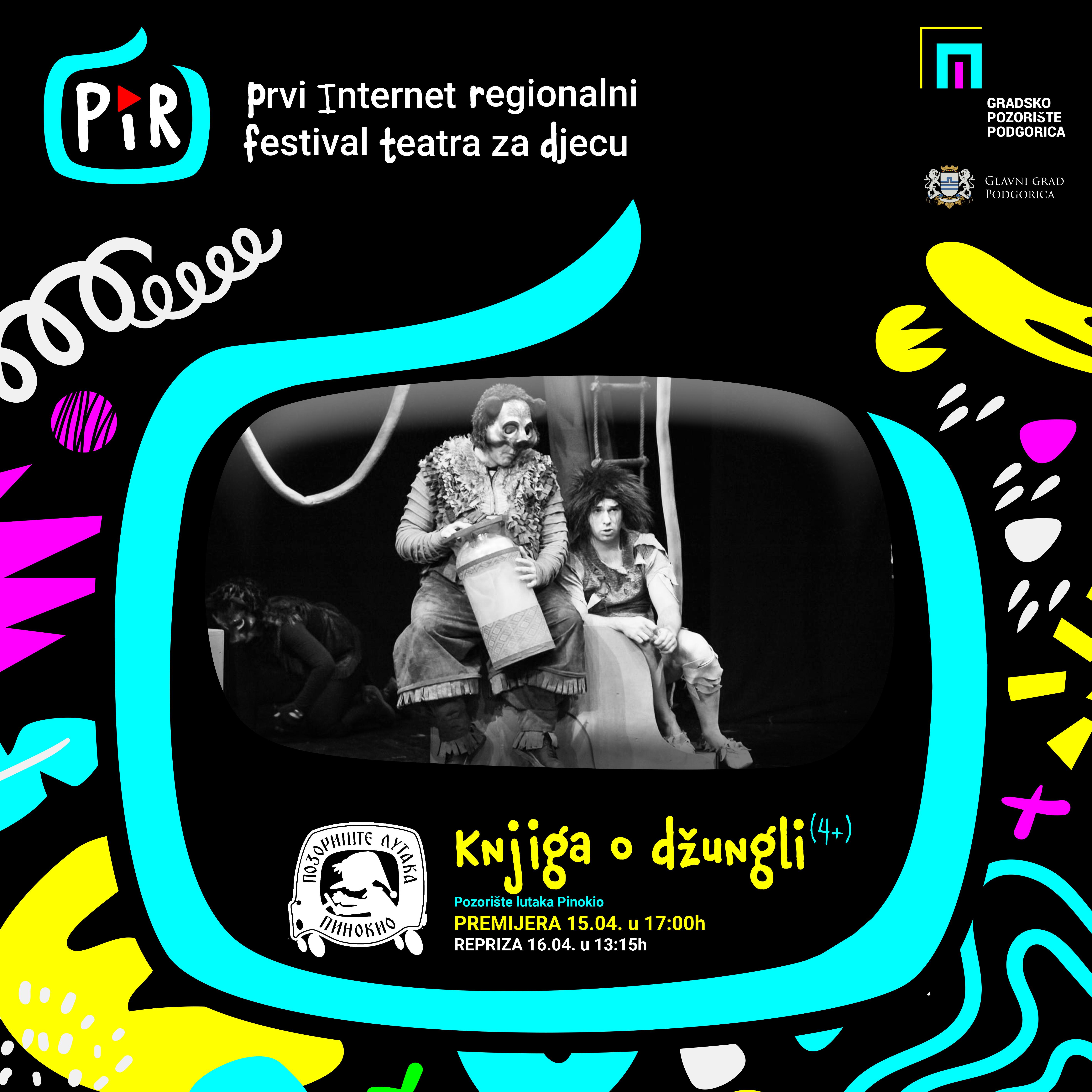 """Predstava ,,Knjiga o džungli"""" (4+) na PIR festivalu"""